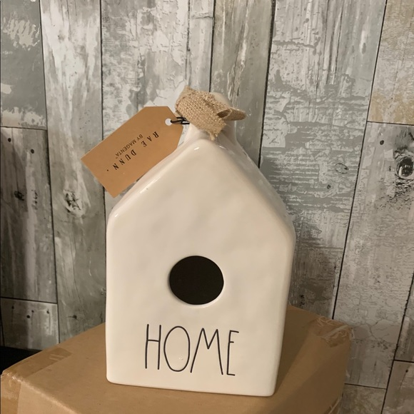 Rae Dunn Home Birdhouse NEW